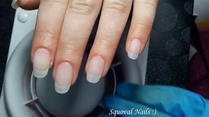 how to file your nails squoval shape