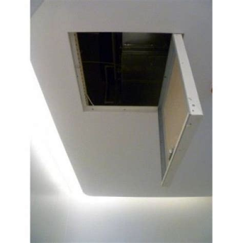Drywall Ceiling Panels by Ceiling Access Panel Cap Basement Ideas