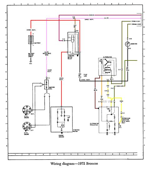 77 Bronco Wiring Diagram by Bronco Technical Reference Wiring Diagrams