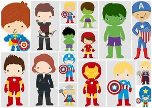 Avenger Babies Clipart - Oh My Fiesta! for Geeks