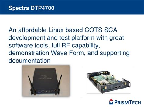 sca test spectra start sca development and test package