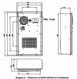 Ac220v 800w Air Conditioner