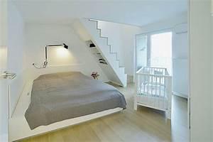 Was Kostet Ein Dachausbau : slaapkamer met bed onder trap slaapkamer idee n ~ Lizthompson.info Haus und Dekorationen