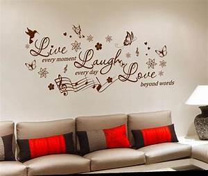 Removable vinyl wall sticker decal mural diy room art home for Wall decals for home
