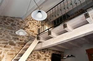Fabriquer Une Mezzanine Soi Même : construire une mezzanine ~ Premium-room.com Idées de Décoration