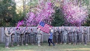 US Navy widow has gender reveal on Veterans Day - CNN