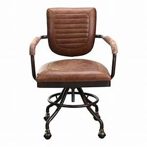 Foster Desk Chair - Soft Brown Products MOE'S Wholesale