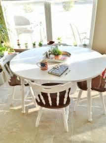 laminate kitchen table best 25 painting laminate table ideas on