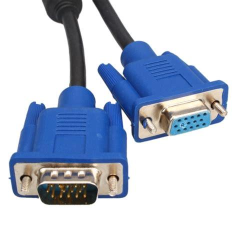 ft vga monitor male  female extension cable alexnldcom