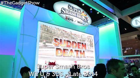 Nintendo @ E3 2014 - The Gadget Show - YouTube