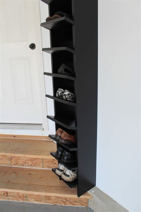 Shoe Rack Garage by 25 Awesome Diy Garage Storage And Organization Ideas