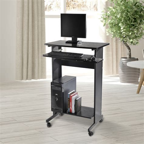 staples allston standing desk stand up computer desk stand up computer workstation