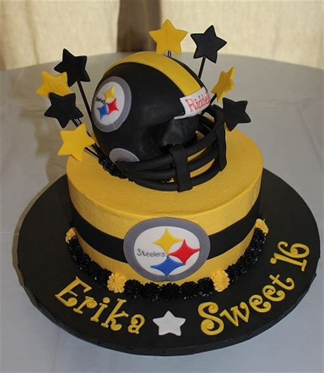 steelers birthday cake cakes by camille sports cakes