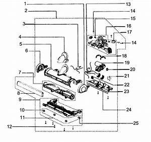 Dyson Model Dc18 Vacuum  Upright Genuine Parts