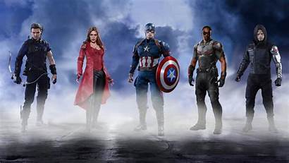 Captain America Team Wallpapers Resolution 4k 1440p