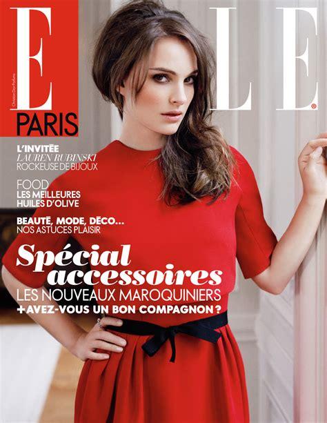 Natalie Portman Covers Elle Paris Photo