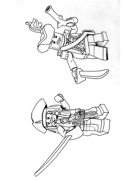 lego pirates coloring pages  printable lego pirates
