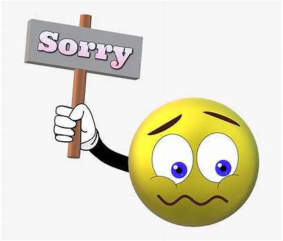 Sorry Excuse Pardon Beg Smiley Cartoon Samuel