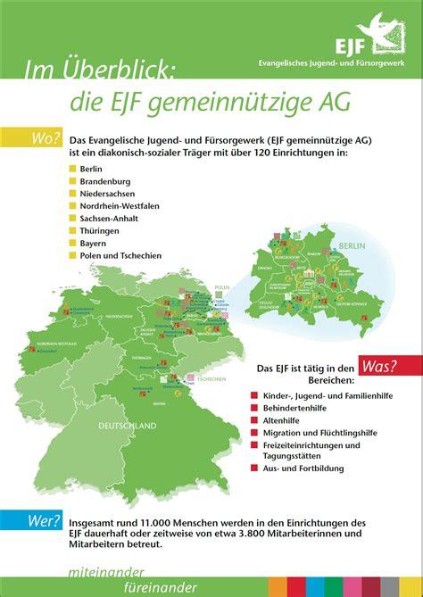F F Deutschland by Ejf Evangelisches Jugend Und F 252 Rsorgewerk Als Arbeitgeber
