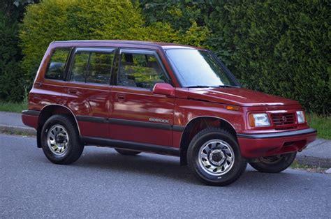 Suzuki Sidekick 1994 by 1994 Suzuki Sidekick Jlx 4 215 4 Vancouver Pre Owned