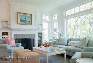 Rowayton Beach House - Traditional - Family Room - new