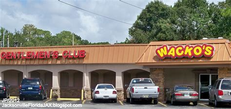 jacksonville florida wacko fl club bar gentlemen emerson st grill jax wackos beach duval restaurant county