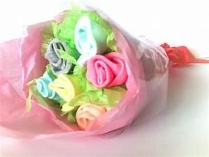 Cadeau de naissance original babyshower bouquet de for Déco chambre bébé pas cher avec bouquet de fleur cadeau