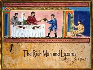 """Lazarus: The One Whom God Helps"" (Sermon on Luke 16:19-31 ..."