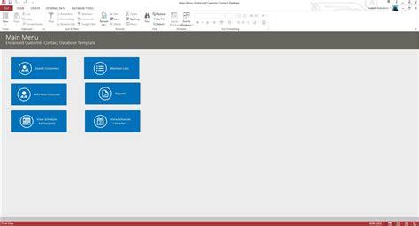 enhanced customer contact crm  template contact