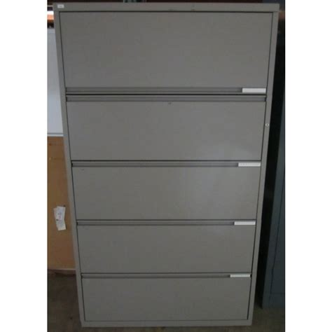 Meridian File Cabinets Manufacturer by Meridian 5 Drawer Lateral File Used Storage Used