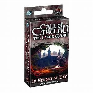 Call of Cthulhu LCG: In Memory of Day Asylum Pack - 13.00e ...