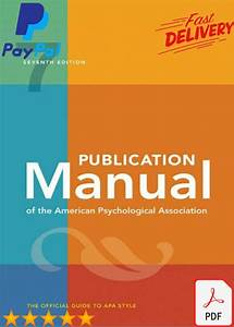 Apa 7th Edition Manual  Complete Guide