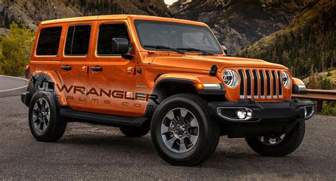 2018 Jeep Wrangler Jl Colors by 2018 Jeep Wrangler Rendered With Newly Leaked Color