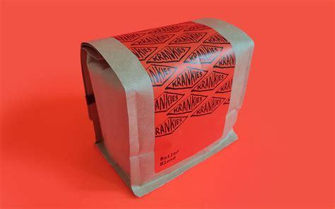 Krankies coffee bar piedmont triad, winston salem; Krankies Coffee Roasters - Brand Identity & Packaging on Behance