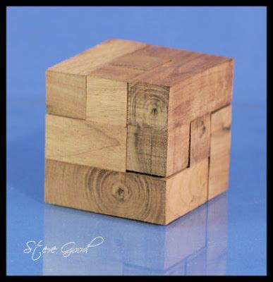 wood cube puzzle scroll  pattern woodworking projects