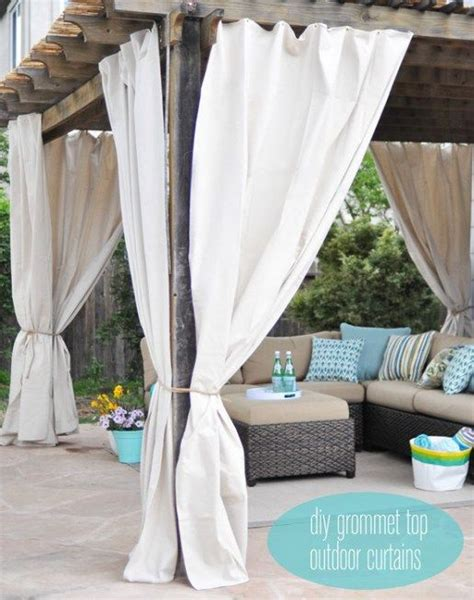 outdoor drapes ikea best 25 patio curtains ideas on outdoor