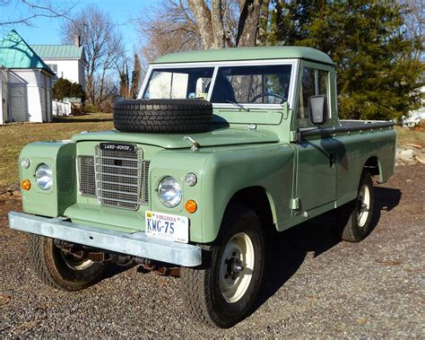 land rover pickup truck 1973 land rover pick up truck auto restorationice