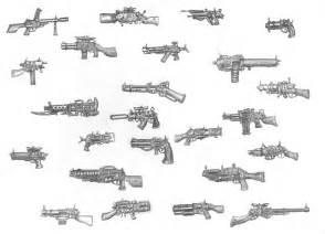 Steampunk Weapons Guns Drawings