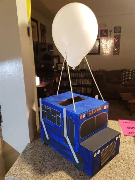 fortnite battle bus party decorecard holder fortnite