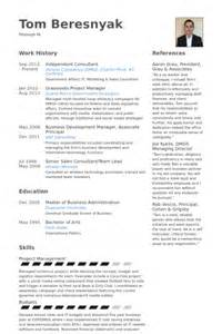 independent business consultant resume independent consultant resume sles visualcv resume