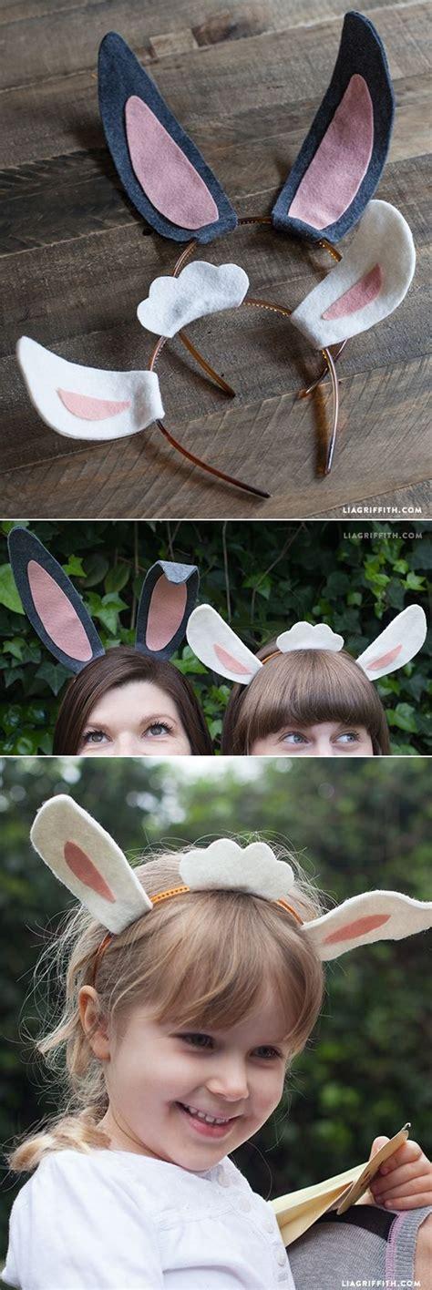 diy felt easter bunny  lamb ears diy ideas easter
