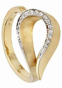 Diamanten Online Kaufen : jobo diamantring 585 gold bicolor mit 16 diamanten online ~ A.2002-acura-tl-radio.info Haus und Dekorationen