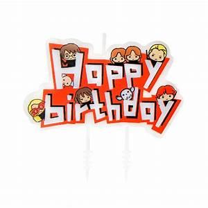 Bougie Harry Potter : harry potter set 10 bougies anniversaire kawaii ~ Melissatoandfro.com Idées de Décoration