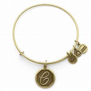 initial c charm bangle wedding jewelry by alex and ani With alex and ani letter necklace