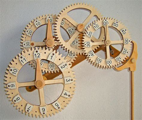 easy wooden clock plan  woodworking
