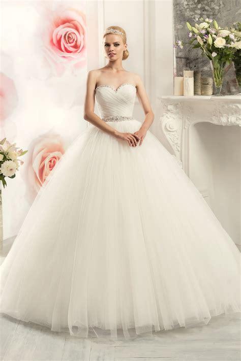 2016 Ball Gown Sweetheart Wedding Dress Shiny Beaded