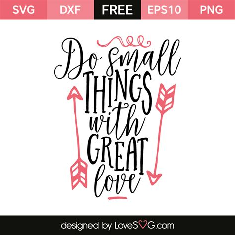 Make a wide variety of diy crafts, decor, paper projects and more with an svg file. Do small things with great love   Cricut, Lettering ...