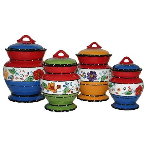 black kitchen canisters viva collection deluxe handcrafted 4 kitchen