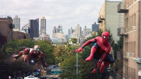 Wallpapers For Desktop Background Full Screen Hd Iron Man And Spider Man Spider Man Homecoming Hd 1920x1080 21539
