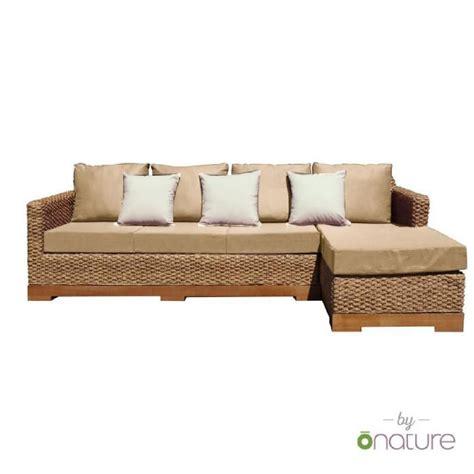 canapé d angle exterieur canapé d 39 angle éco conçu extérieur droit beige achat